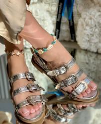 Sandale cod: LL11-100 Silver
