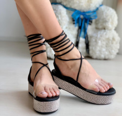 Sandale Dama Cod: INCF2 Black