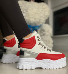 Ghete cod: S312-2 WHITE-RED