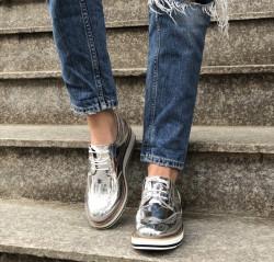 Pantofi Cod : 7A129 Silver