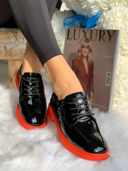 Pantofi cod: A030 Black/Red