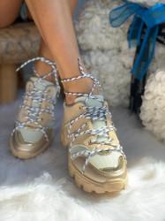 Pantofi sport cod: 2019-365 Beige