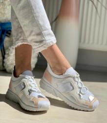 Pantofi sport cod: 81087-2 White