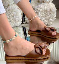 Papuci Dama cod: 555 Camel