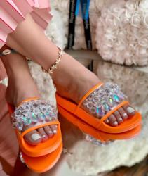 Papuci Dama cod: ZY383-021 Orange