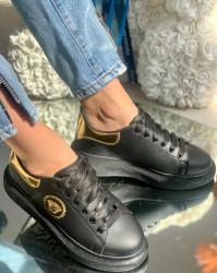 Pantofi Sport Cod: FCL701-4 Black/Gold