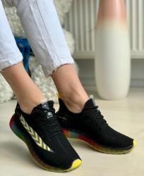 Pantofi Sport Cod: J77-7 Black/Red