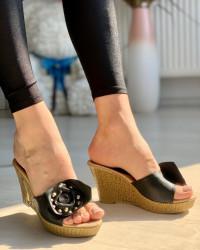 Papuci Cod:0B-6 Black