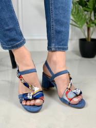Sandale cod: OM5381-5 BLUE