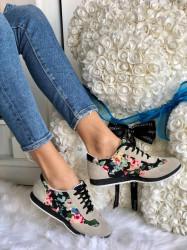 Adidas Cod: 998 Flower Bej