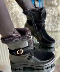 Ghete cod: Eda fashion 14 Black