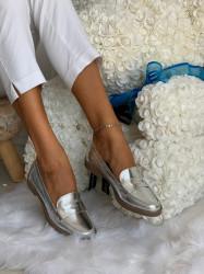 Pantofi cod: YJ-1F045-43 Silver