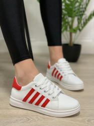 Pantofi Sport Cod: 169 White/Red
