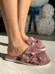 Papuci cod: Fluffy-2 Dk,Pink
