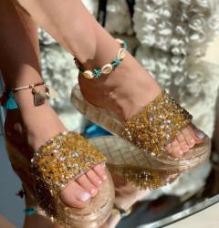 Papuci Dama cod: LS13 Gold
