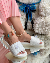 Papuci Dama cod: LT181-3 White