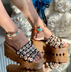 Papuci Dama cod: PH8059-1 Black