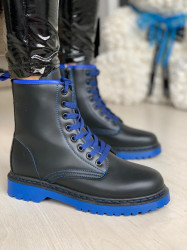 Ghete cod: J2002-2 Black/Blue
