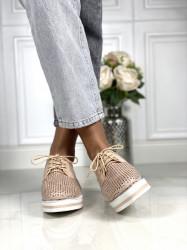 Pantofi Casual Cod: HM8208-3 Nude Pink