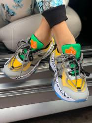 Pantofi sport cod: BK623 Yellow