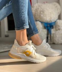 Pantofi sport cod: LT161-2 White/Yellow
