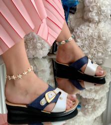Papuci Dama cod: 336 Blue