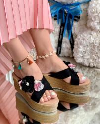 Papuci Dama cod: PH8057-1 Black