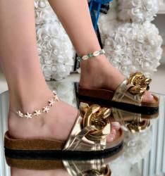 Papuci Dama cod: SF-10 Gold