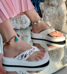 Papuci Dama cod: YES-6918-9 White
