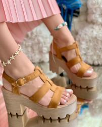 Sandale Dama Cod: 9S0206-1 Camel