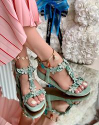 Sandale Dama Cod: Y99898 Green