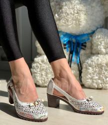 Pantofi Casual Cod: D923-22 White