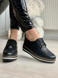 Pantofi Casual Cod: S011 Black
