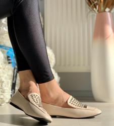 Pantofi cod: G007 Beige