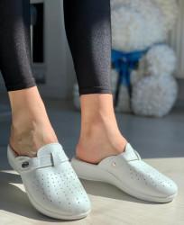 Papuci Dama Cod: 112 White