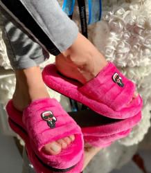 Papuci de casa cod: Karl 86 Pink