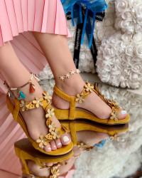 Sandale Dama Cod:Y99898 Yellow