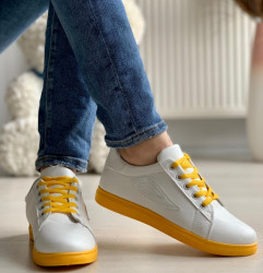 Tenisi cod: 523 White/Yellow