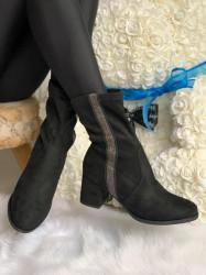 Cizme cod: Eda Fashion CZ Black