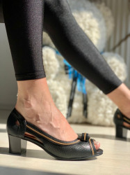 Pantofi Cod: 7E723-3 Black