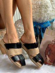 Papuci cod: Eda Fashion Black