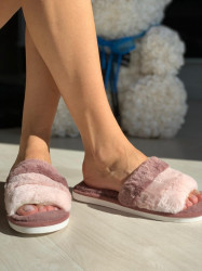 Papuci cod: Fluffy Dk.Pink