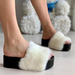 Papuci Dama cod: PM55-2 White