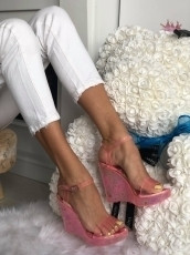 Sandale cod: LS1608 Pink