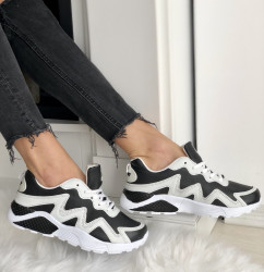 Adidasi Cod : C-8 Black-White