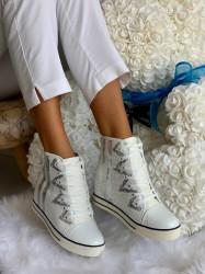 Ghete sport cod: Eda Fashion 4 White
