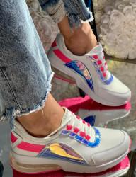 Pantofi sport cod: F-3336 Fuchsia