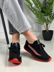 Pantofi sport cod: J77-1 BLACK/RED2
