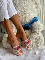 Papuci cod: Eda Lips Rose