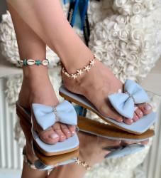 Papuci Dama cod: 99666 Blue
